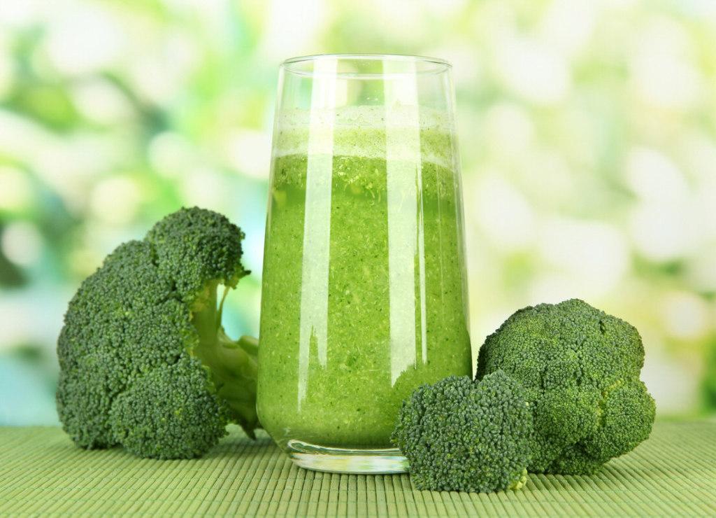 suco de brocolis receita