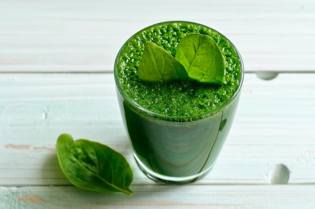 suco verde receita